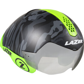 Lazer Wasp Air Tri Helmet matte black camo/flash green